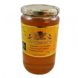 Unpasteurized Goldenrod honey 1KG